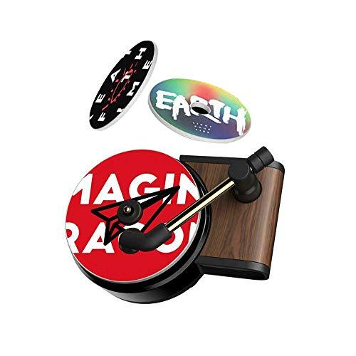 Car Air Diffusers Freshener,Car Aromatherapy Essential Oil Diffuser Vent Clip,Record Player Car Decor