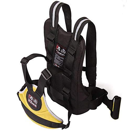 Saft Moto Realizzata da Oxford Cintura di Sicurezza per Bambini Regolabile (Colore : Giallo)