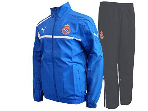 PUMA Espanyol Barcelona sportpak blauw zwart Spanje voetbal La Liga fanartikel