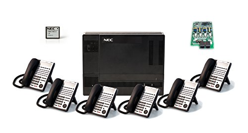 NEC NEC-1100009 6-Handset 4-Line Landline Telephone by NEC