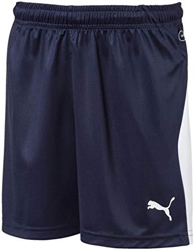 PUMA Men's LIGA Shorts JR, Peacoat White, L