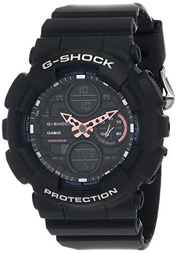 Casio G-Shock S-Series Analog-Digital Black Dial Women's Watch - GMA-S140-1ADR(G982)