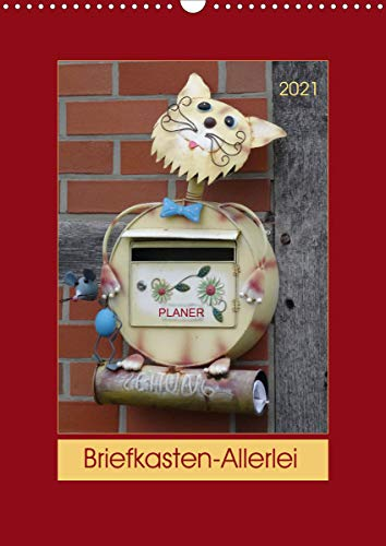 Briefkasten-Allerlei (Wandkalender 2021 DIN A3 hoch)
