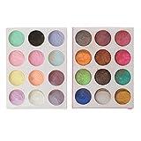 bhty235 resina epoxi color – Fluoreszierendes Glow-in the Dark polvo y perla pigmentación Set resina joyas DIY Craft