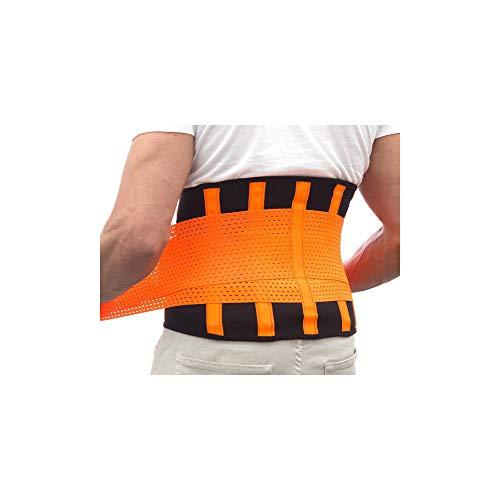 InnovaGoods IG116349 Korrekturgürtel für Erwachsene, Unisex, Orange, XL