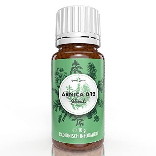 Arnica Globuli (Arnica D12) von Green Spirit radionisch | Apothekenqualität