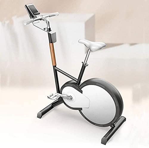 ZJDM Bicicleta estática, Equipo Configuración del Programa de Movimiento múltiple Máquina elíptica de Ejercicios, Bicicleta con magnetrón silencioso, Bicicleta estática para Interiores Equipo de