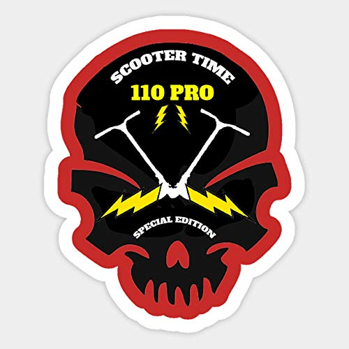 Stunt Scooters Pro Rider - Sticker Graphic - Decal Sticker Sticker