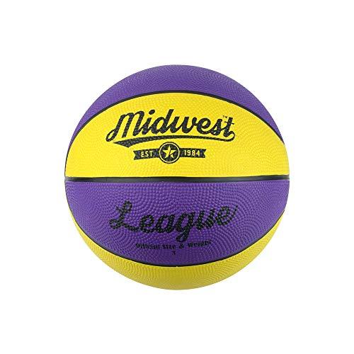 Midwest Kinder League Basketball, Kinder, League Basketball, Yellow/Purple