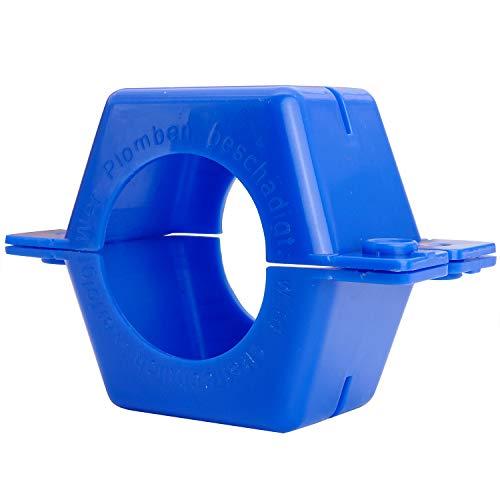 Wasserzähler Plombierschelle Überwurf 3/4 Zoll rund