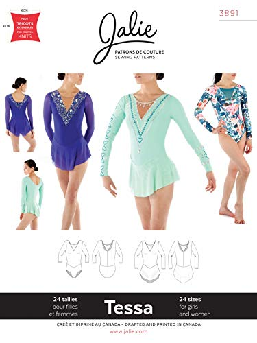 Jalie Schnittmuster 3891 Dancewear, 24 Größen