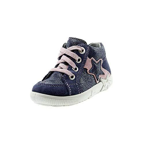 Superfit Baby Mädchen Starlight Lauflernschuhe Sneaker, Blau (Blau/Lila 80), 23 EU