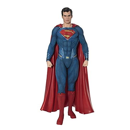 LIANGLMY Figur Frau Figur Spielzeug Puppe 19cm Wonder Frau Statue Sammlung Modell Action Figure Spielzeug (Farbe : Superman no Box)