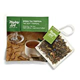 Mighty Leaf Tea Tea Pouches, Green Tea Bags in Individual Foil Pack, Green Tea Tropical, 100 Count