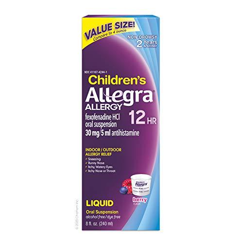 Children's Allegra Allergy 12 Hour Berry 8 fl. oz.