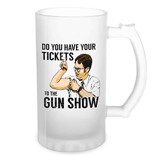 Do You Have Your Tickets The Gun Show Transparente taza de Stein de la cerveza 0.5L