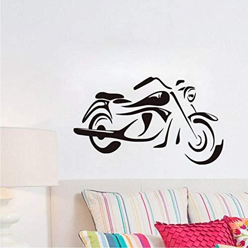 DLC Mode Motorrad Wandkunst Aufkleber Für Kinder Schlafzimmer Home Decorative Vinyl Wandtattoos Abnehmbare Klebetapete