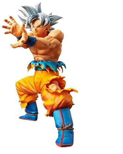 WYETDAS Dragon Ball Super Ultra Instinct Goku VS Jiren PVC Figuras de acción Figura de Anime Adornos de Juguete