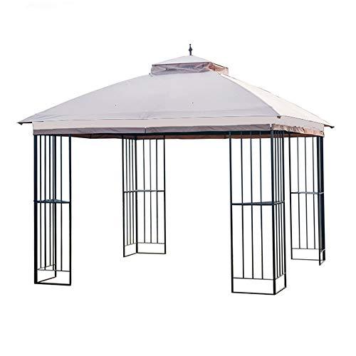 Garden Winds Replacement Canopy for The Garden Treasures Steel Finial Gazebo - Standard 350 - Beige