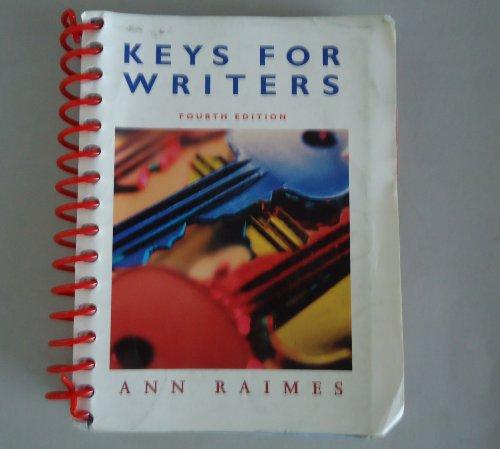 Keys for Writers, Custom Publication