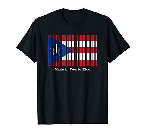 Made in Puerto Rico Hecho en Puerto Rico Boricua Pride T-Shirt