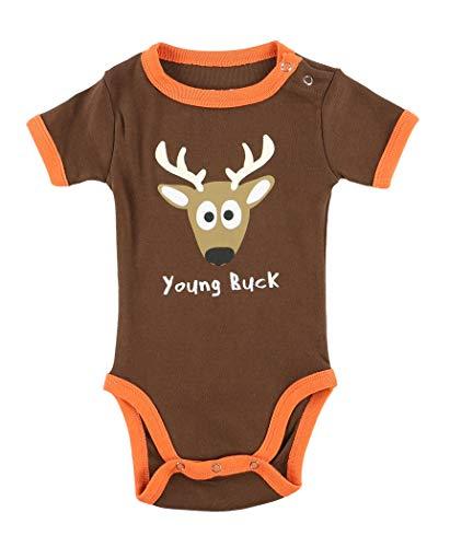 LazyOne Garçon Young Buck Body Bebe Vest 6 Months