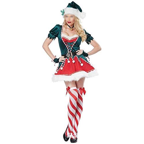 XYAL0006001 De Nieuwe Kerst Kleding Mooie Groene Stukken Van Sets, Kerst Feestjurk, Feestkostuums Kostuums, Xingyue Aile Kerstbenodigdheden
