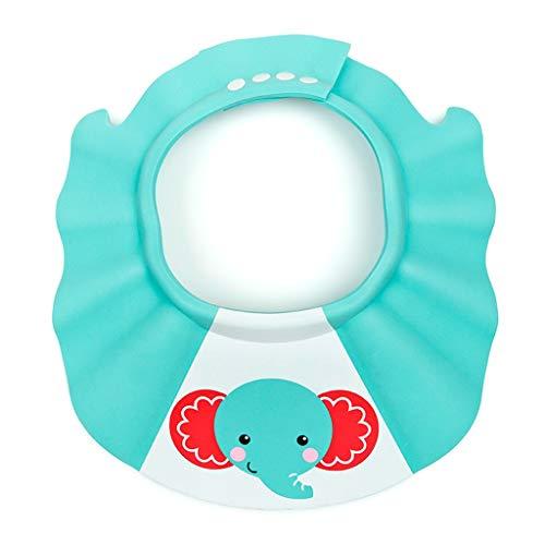Bébé Shampooing Cap Étanche Protecteur Oreille Bonnet De Douche Enfant Bébé Shampooing Réglable Doux Et Léger, Plus Épais Et Plus épais ( Color : Green )