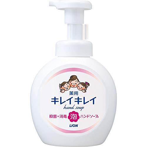 キレイキレイ 薬用 泡ハンドソープ シトラスフルーティの香り 本体ポンプ 大型サイズ 500ml