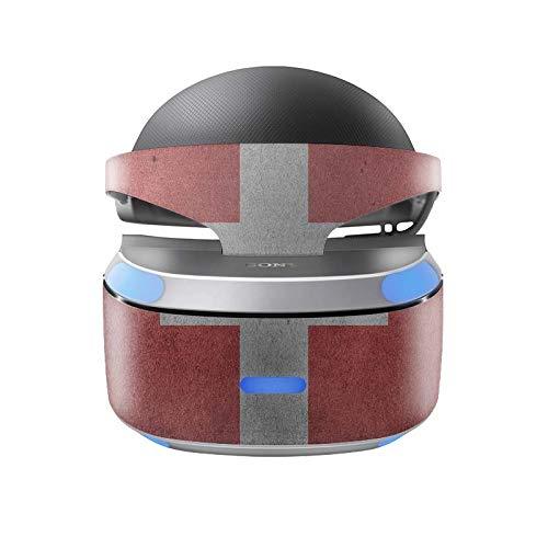Skins4u Aufkleber Design Schutzfolie Vinyl Skin kompatibel mit Sony PS4 Playstation 4 VR Brille Schweiz
