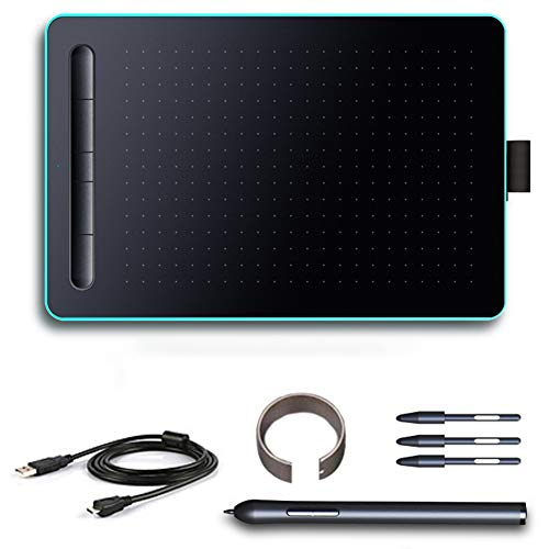 Aibecy Tabletas de dibujo gráfico USB Digitales Tabletas Digitales Conectar Teléfonos Números Tableros de Dibujo No Necesita Cargos