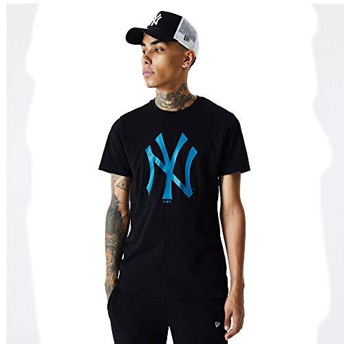 New Era Camiseta línea York Yankees Modelo MLB Seasonal Team Logo tee NEYYAN Marca