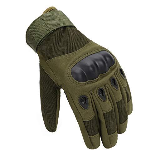 NTOW Outdoor Handschuhe Herren Taktische Trainings Motorradhandschuhe Kletterhandschuhe Vollfinger Gloves Winddichte Wanderhandschuhe