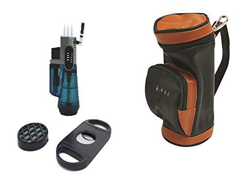 F.e.s.s. FESS Golf Gift Set Mini Golf Bag Humidor