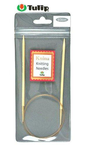 輪針 Knina Swivel Knitting Needles(ニーナ スイベル ニッティング ニードルズ) 竹輪針 60cm 8号 Tulip チューリップ