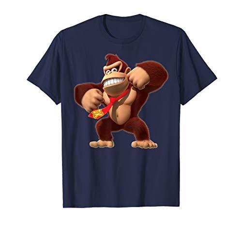 Official Donkey Kong 3D Poster T-Shirt, Adults, Kids