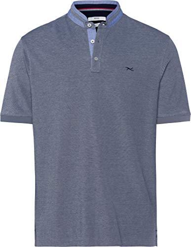 BRAX Herren Style Pollux Easy Care Piqué Poloshirt, Ocean, Large (Herstellergröße:L)