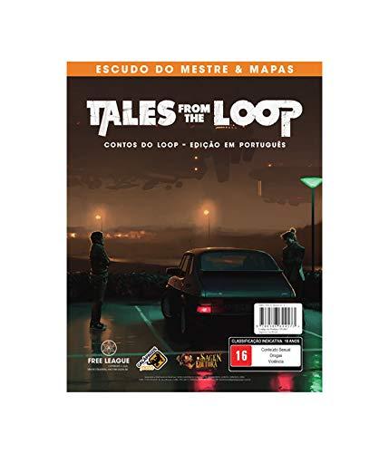 Tales from the Loop: Escudo do Mestre & Mapas