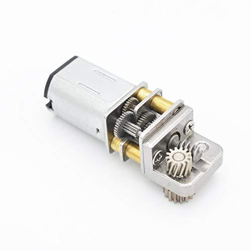DC Motor del Engranaje Smart Lock DC 12V 10RMP N20 Motor del Engranaje de la impresión 3D Pen Motor 3V6V12V bajo Nivel de Ruido Speed(RPM) : 12V11RPM