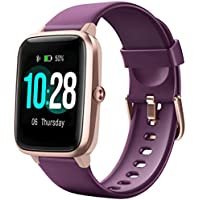 Letsfit Fitness Smart Tracker Watch with Heart Rate Monitor
