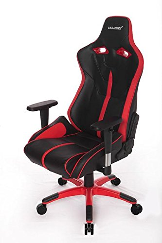 AKRacing NW - AK-NW-BR - Silla Gaming, Color Negro/Rojo