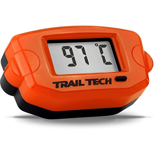 Trail Tech 743-ET3 Orange TTO Digital Temperature Gauge 14mm Spark Plug Sensor
