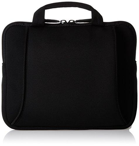 Amazon Basics Netbook- und iPad- Tasche für Größe 17,8 - 25,4 cm (7 - 10 Zoll) mit Tragegriff schwarz