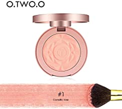 O.TWO.O 2018 New Cheek Blush Powder 6 Color blusher different color Powder pressed Waterproof Long-Lasting Face Makeup Blusher : 9120-1