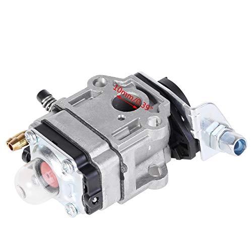 xingyu Carburador Carburador 10mm Carb w/Junta for Echo SRM 260S 261S 261SB PPT Pas 260 261 BC4401DW Trimmer Carburador (Color : Silver)