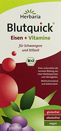 Herbaria Blutquick, 500ml Flasche, 3er Pack (3 x 500ml)
