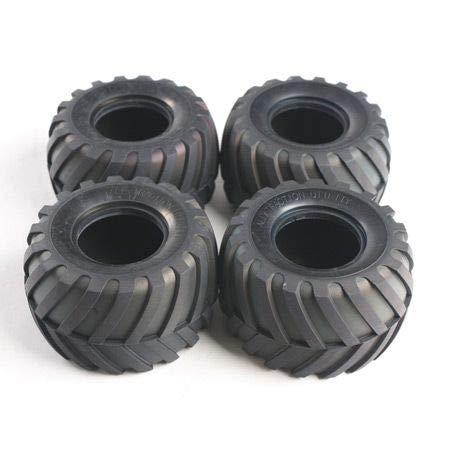 Tamiya America, Inc 1/12 Front/Rear Tires (4): Lunchbox, Pumpkin, TAM9805213
