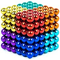 5 mm Magnetic Balls Cube Fidget Gadget Toys Rare Earth Magnet Office Desk Toy Games Multicolored