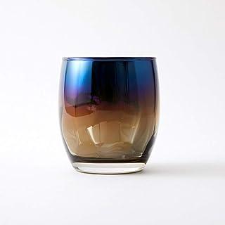 【お酒色に染まるグラス】 ミラーなのに透ける お酒にピッタリのプレミアムチタンとガラスの器 Rose(ローズ) (Infinite)