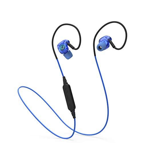 OPAKY Bluetooth-Headset 4.1 Subwoofer In-Ear-Sport-Wireless-Headset mit Anti-Sweat-Funktion,für iPhone, iPad, Samsung, Huawei,Tablet